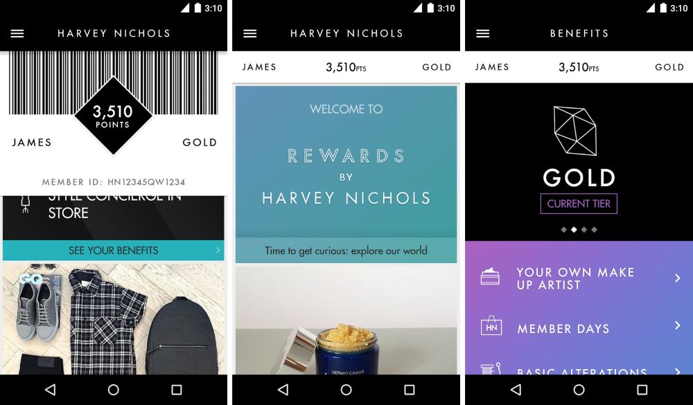Harvey Nichols Introduces Loyalty App