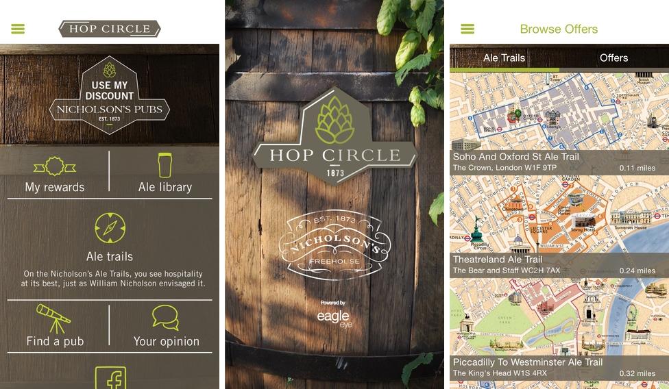 Pub Chain Nicholson's Embraces Digital Loyalty with App