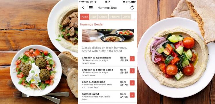 Hummus Bros Utilise Judo for Mobile Order and Payment