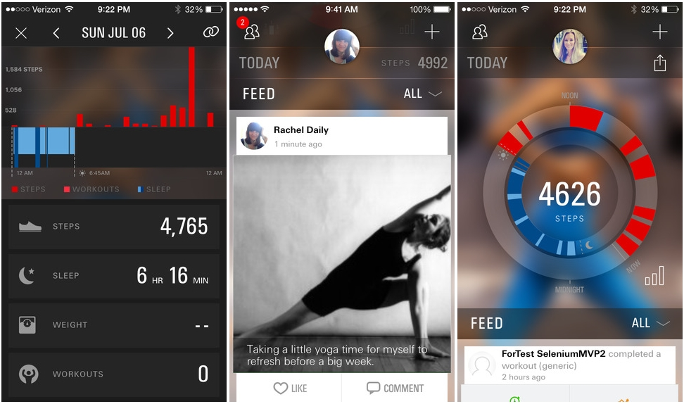Under Armour Promotes Clothing Range with Fitness-Tracking App