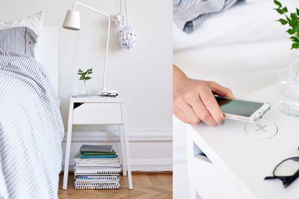 Charge Your Phone Through Your Nordli, as IKEA Integrates Wireless Charging
