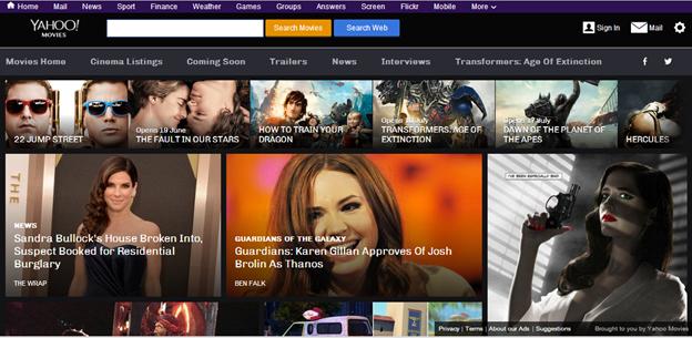 Yahoo Launches Mobile-optimised Film Magazine