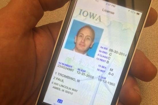 Iowa Preps Smartphone Driver's Licence App