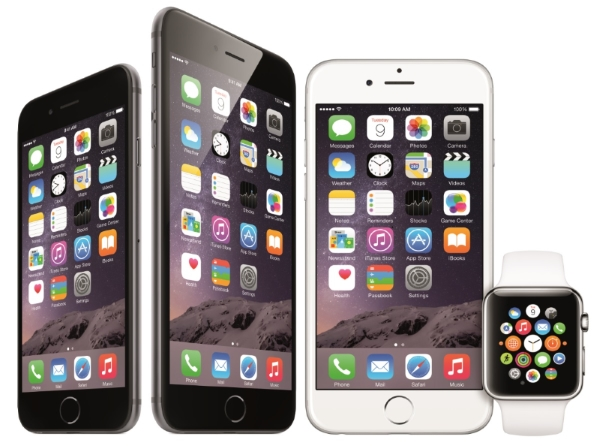 Apple Unveils iPhone 6 and the Apple Watch