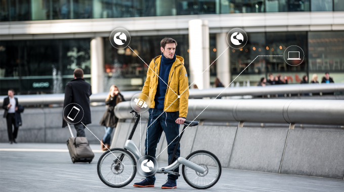 JIVR Launches Funding Campaign for Beacon-enabled Bike