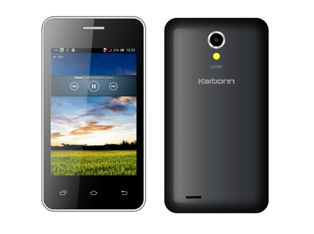 First 'Android One' Phone From Karbonn Released in India for £27
