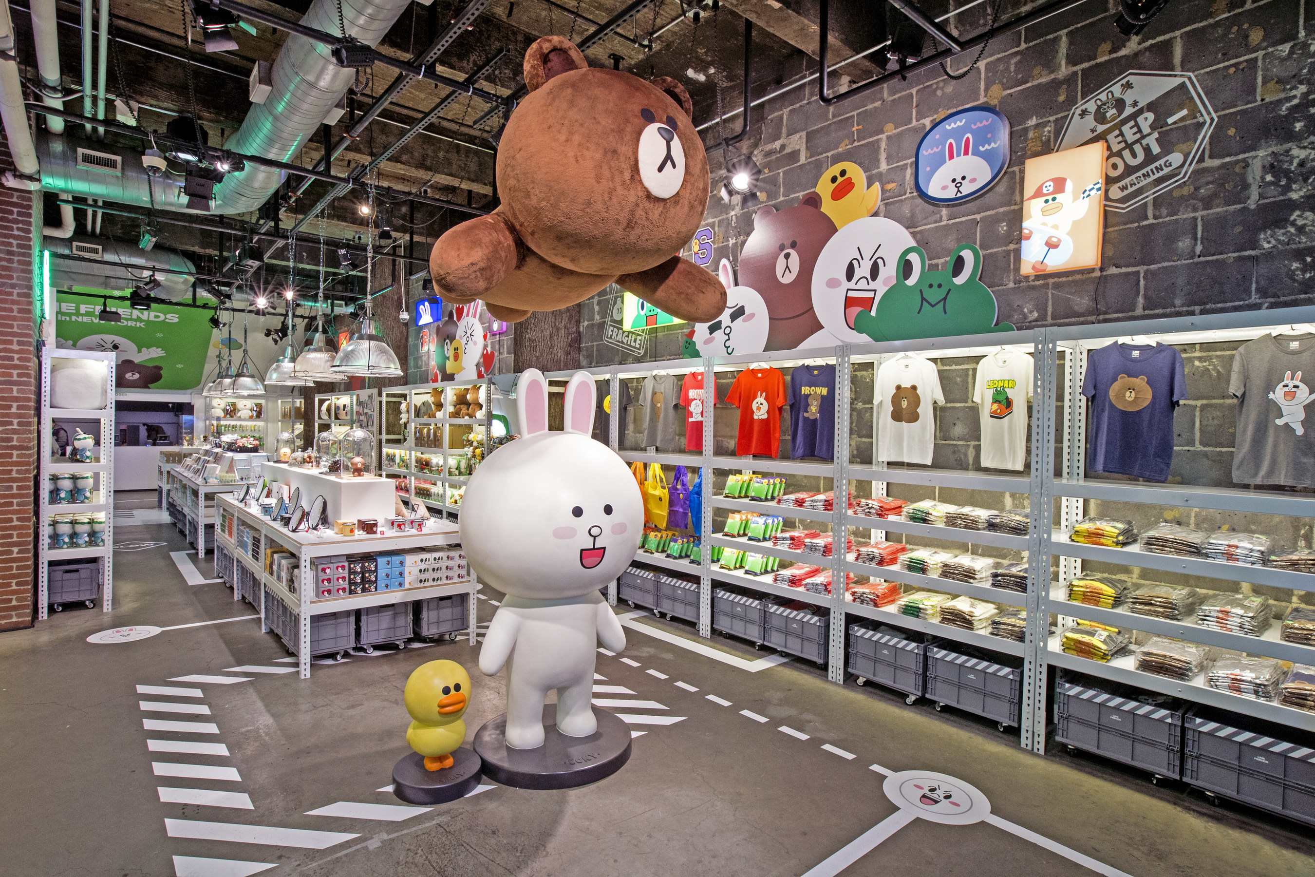 Line Opens Physical Store in NYC's Times Square