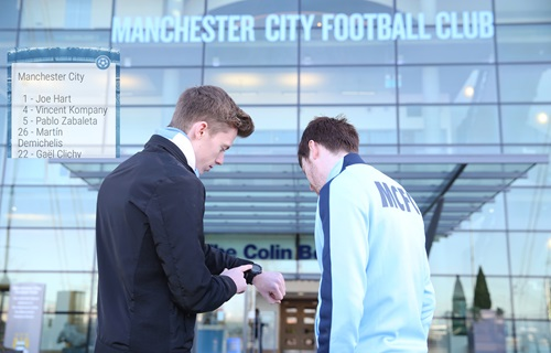 Manchester City Unveils Wearable Android App