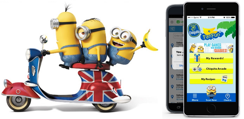 Chiquita and Universal Pictures Enlist the Help of Minions