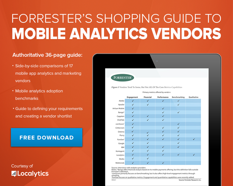 Forrester's Shopping Guide to Mobile Analytics Vendors