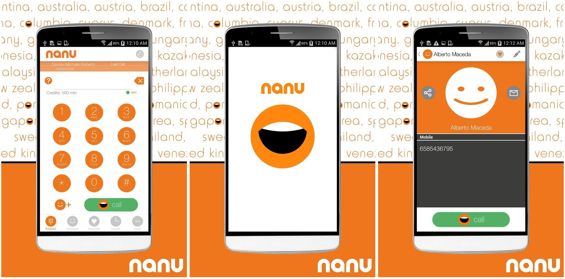 Nanu Takes on Skype With Free Calls Over 2G