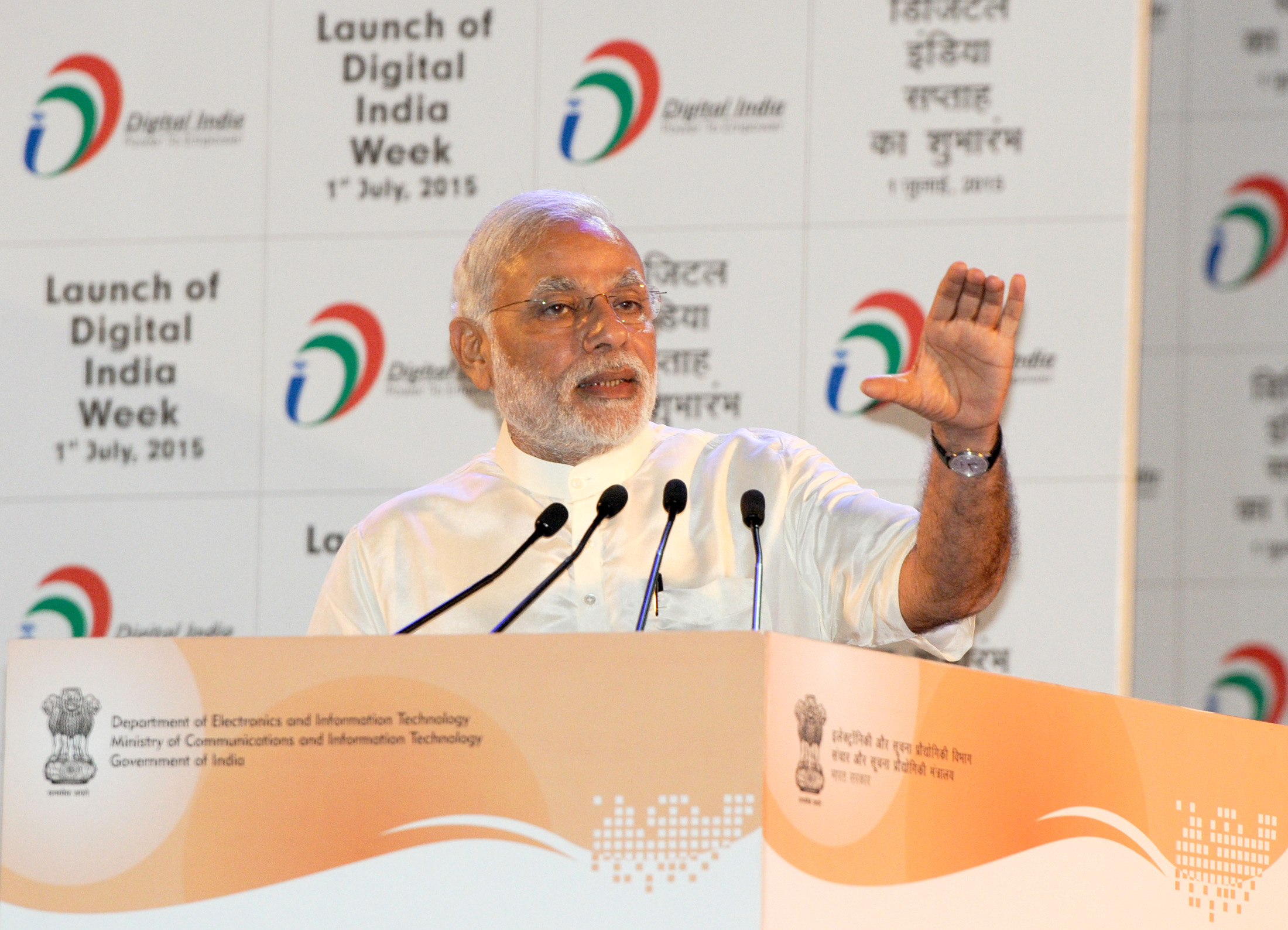 India's 'Digital Week' Highlights Plans for Wi-fi Push