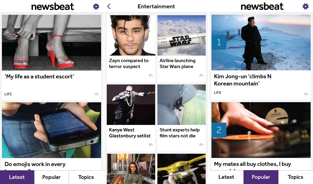 Radio 1's Newsbeat Unveils Dedicated App