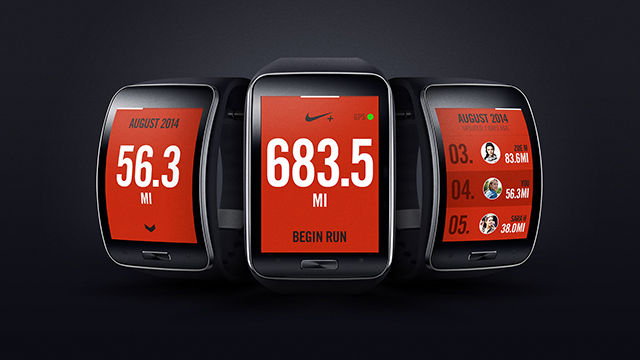 Nike+ Running App Comes to Samsung Gear S