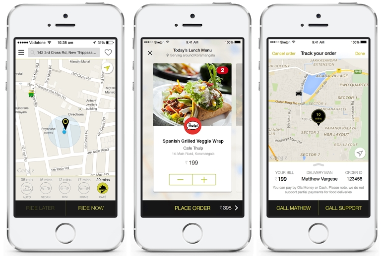Ola Promises 20 Minute Food Delivery in Four Cities