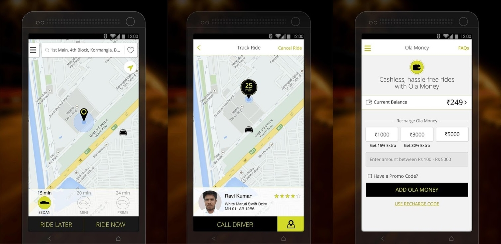 India's Ride-hailing Leader Ola Receives $315m in Funding Round