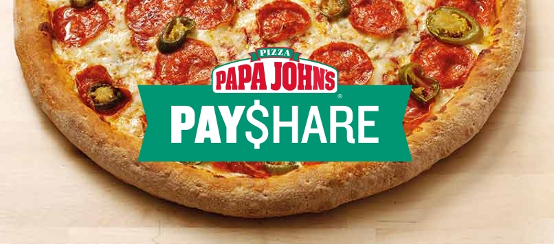 Papa Johns Introduces Bill-splitting Functionality to App