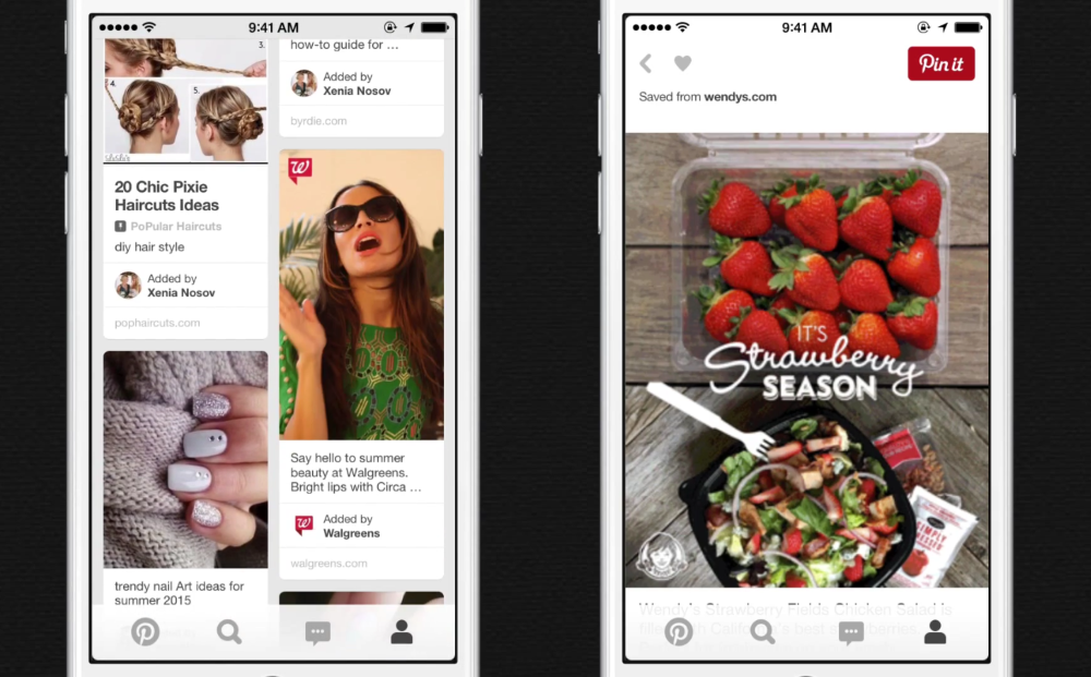 Pinterest Expands Ad Offering with 'Cinematic Pins'