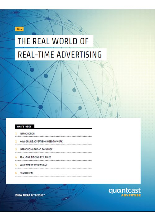 The Real World of Real Time Advertising – Quantcast