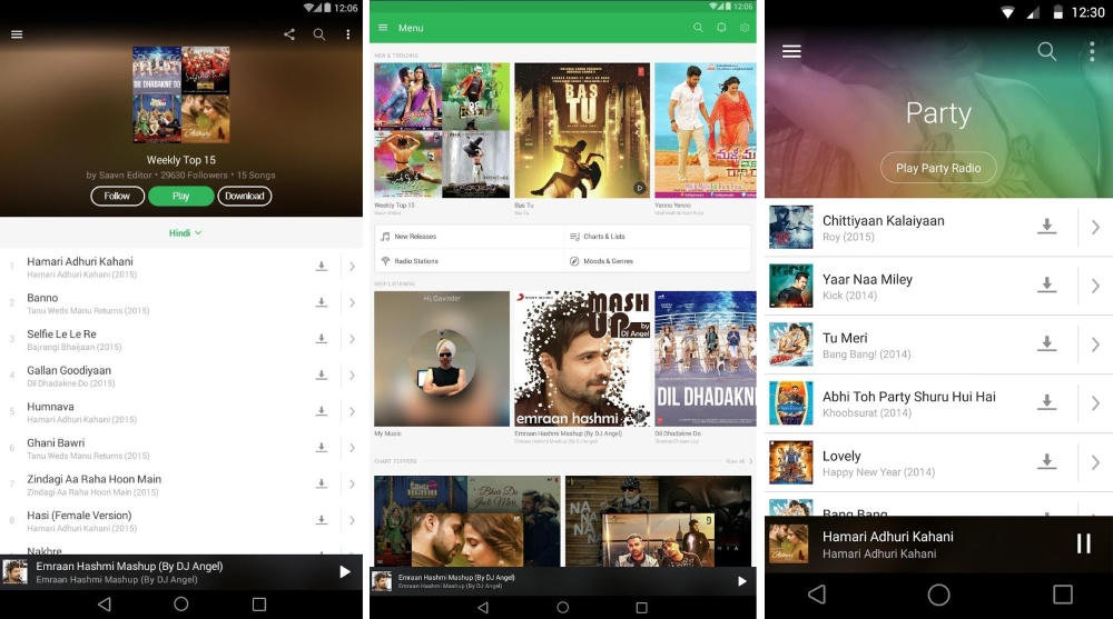 Indian Mobile Streaming App Saavn Raises $100m