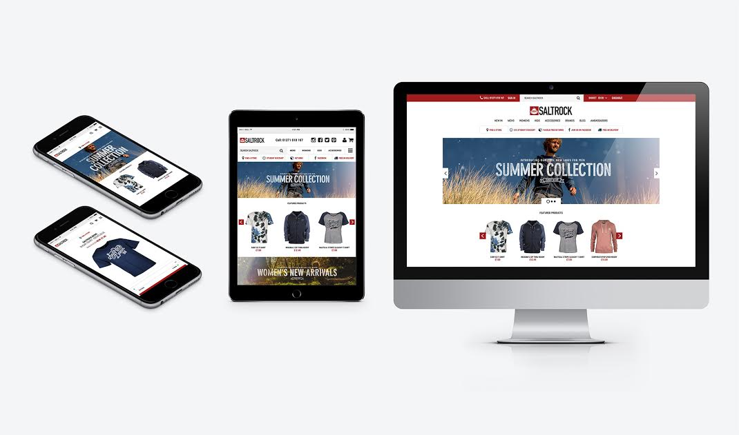 Saltrock Catches the Mobile Wave with New Website