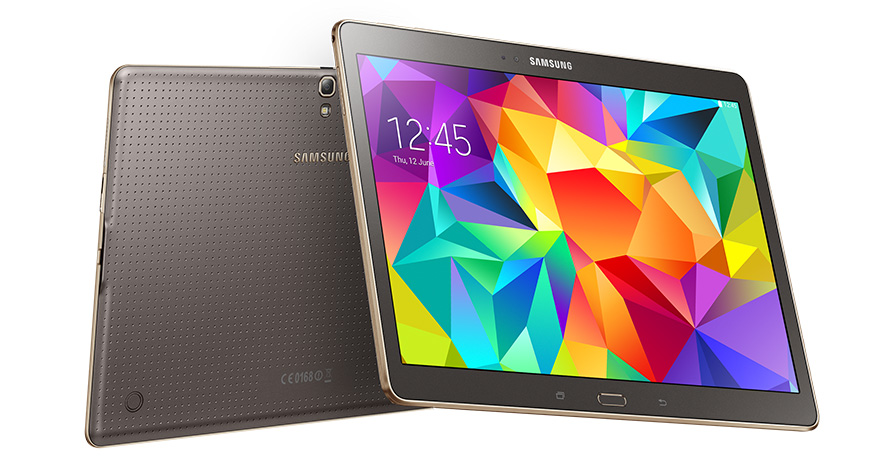 Samsung Aims to Conquer the Tablet Market with Galaxy Tab S