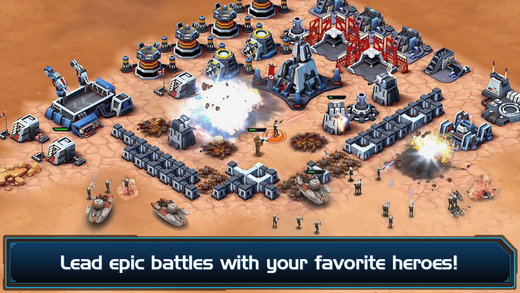 Disney Interactive Launches Star Wars: Commander Game for iOS