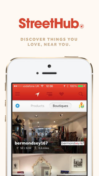 StreetHub Launches App Connecting Shoppers to London's Best Boutiques