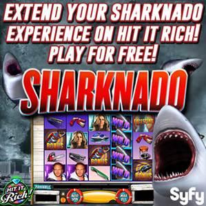 Zynga Partners with SyFy to Promote Sharknado