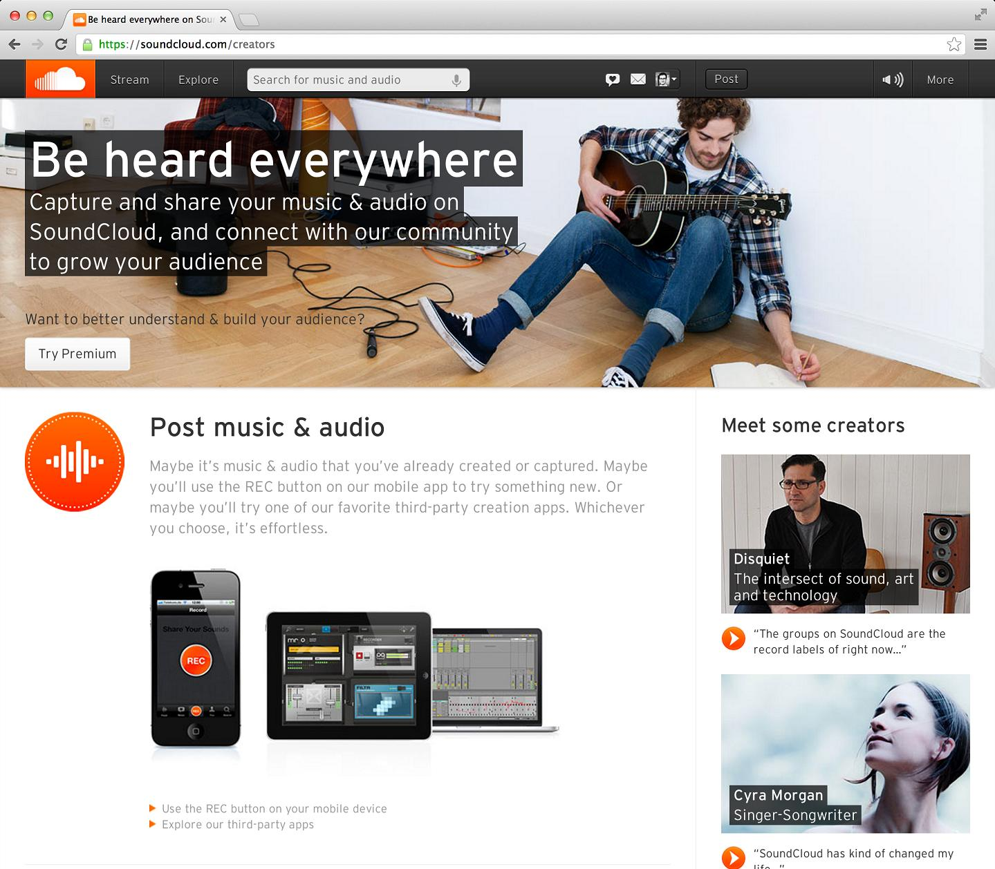 SoundCloud Enables Artists to Monetise Content with Ads