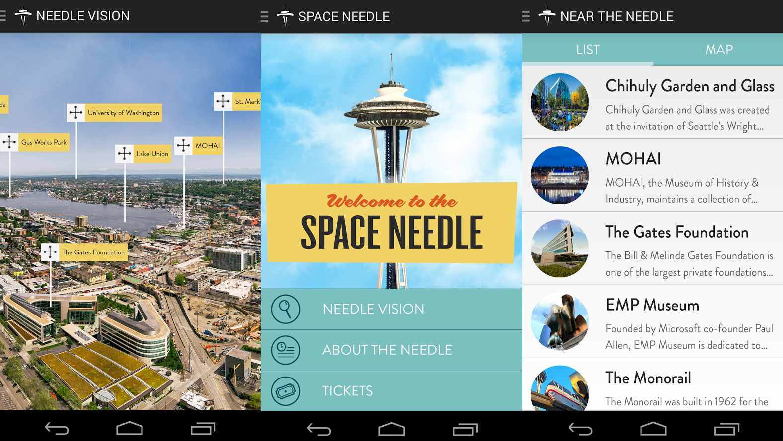 Seattle's Space Needle Updates Attractions with AR
