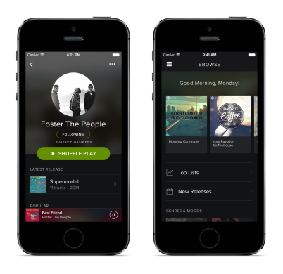 Spotify Raises $526m in Buildup to Apple Music Battle