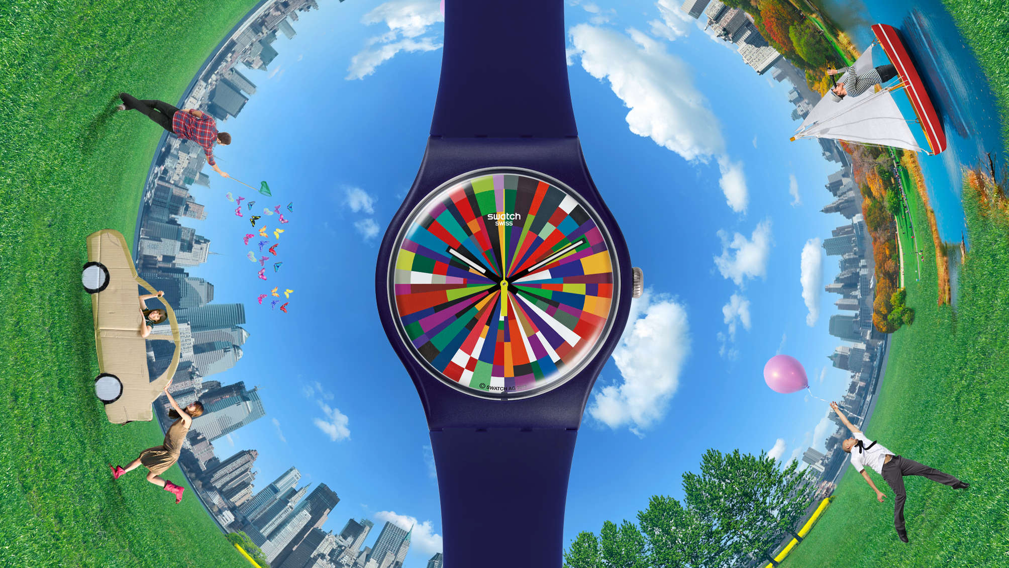 Swatch Strikes Out Alone with Smartwatch Plans