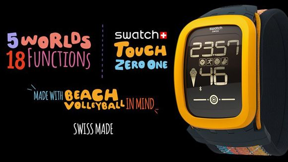 Swatch Smartwatch Targets Key 'Beach Volleyball' Demographic