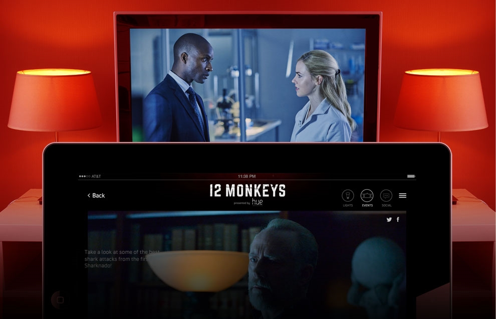 Syfy Partners with Philips to Adjust Viewers' Lighting