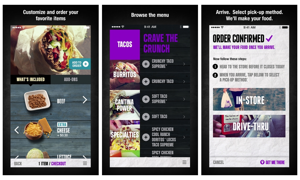 Order Before Arriving with Taco Bell's iPhone App