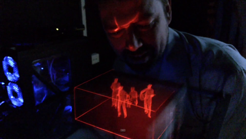 Innovation Lab: Hologram Displays, Instant Meal Makers and Flying Phones
