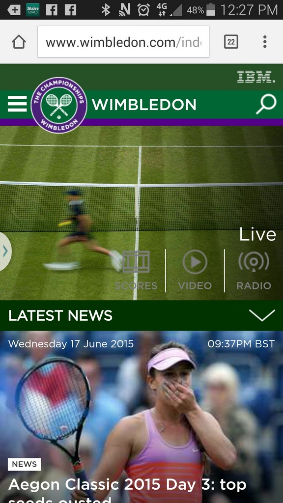 Wimbledon and IBM Serve Up Revamped 2015 Digital Offering