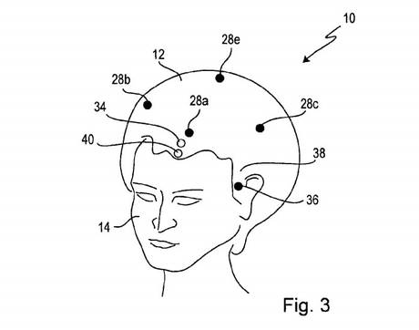 Sony Files Smart Wig Patent