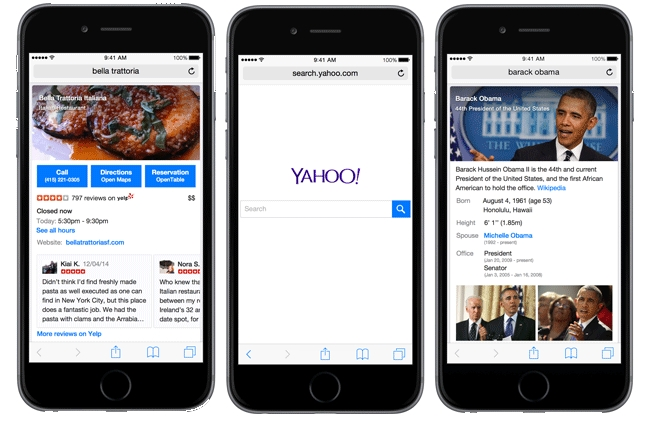Yahoo Debuts Mobile Search Engine