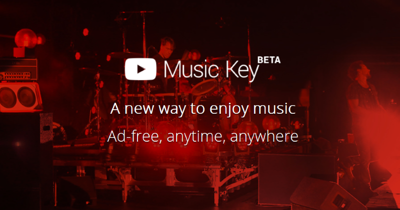 YouTube Launch Music Key Paid Subscription Service