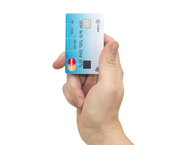 MasterCard and Zwipe Partner for Contactless Card with Fingerprint Sensor