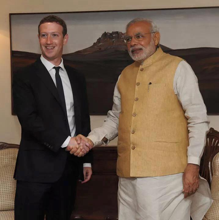 Prime Minister of India to Join Zuckerberg's Next Town Hall