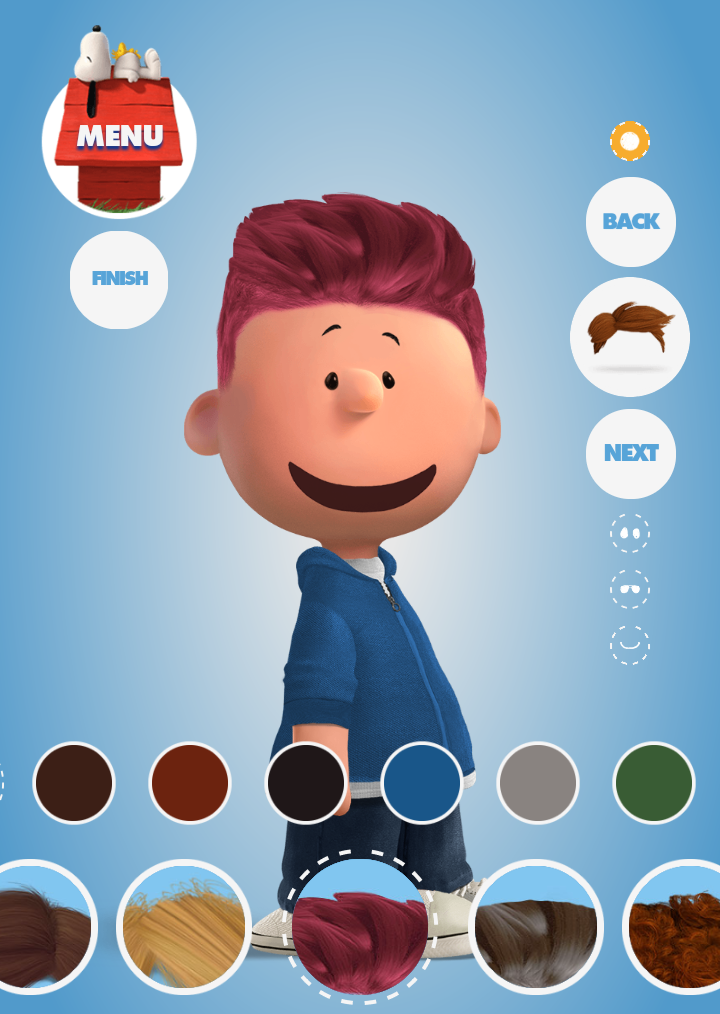 PeanutizeMe Campaign Promotes Movie with Customisable Charlie Brown Avatars