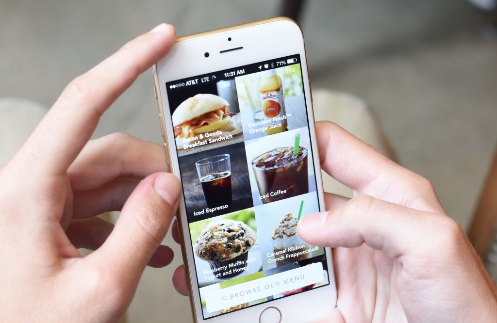 Starbucks Mobile Ordering Finishes US Rollout
