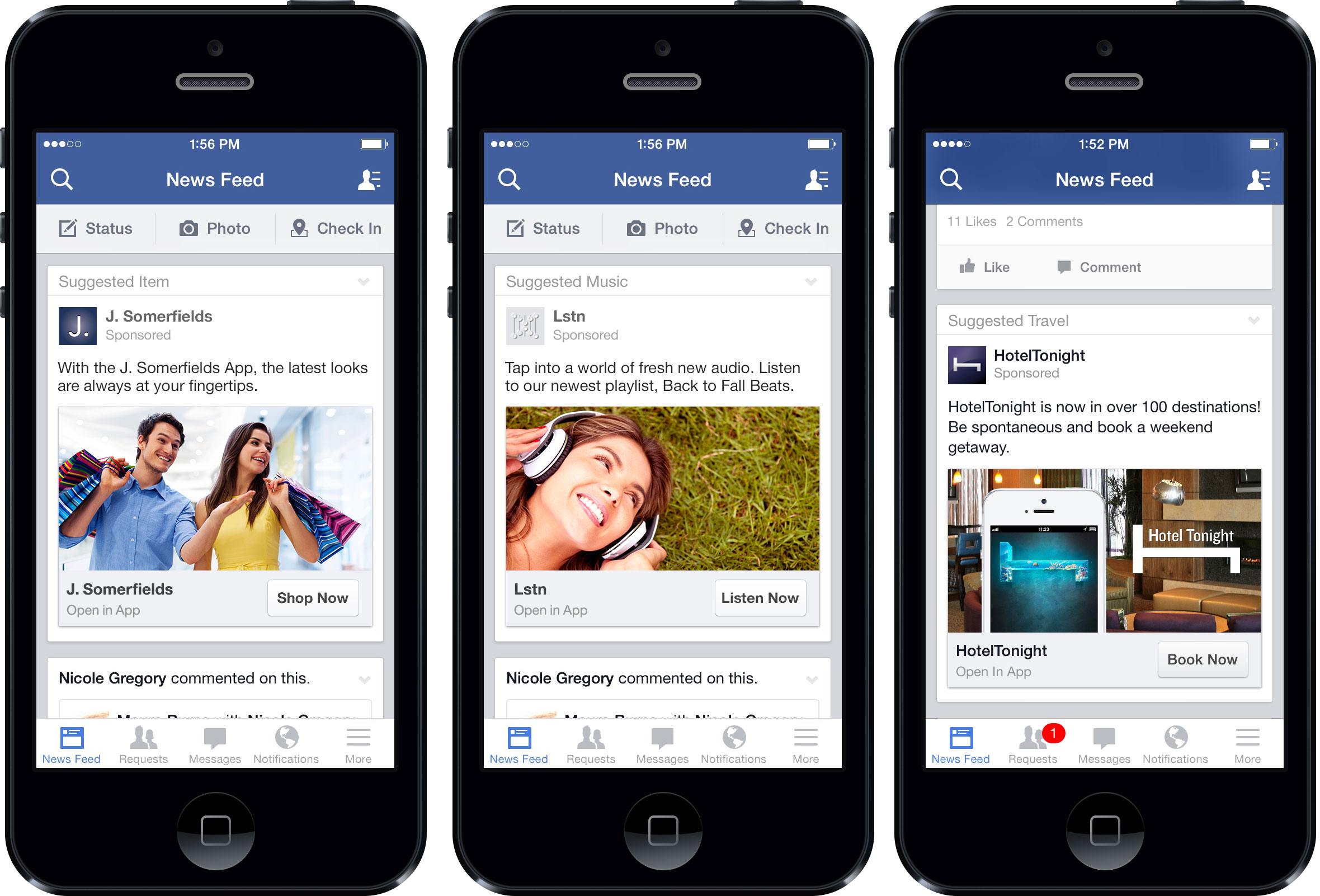 Facebook App Install Ad Spending Quadruples