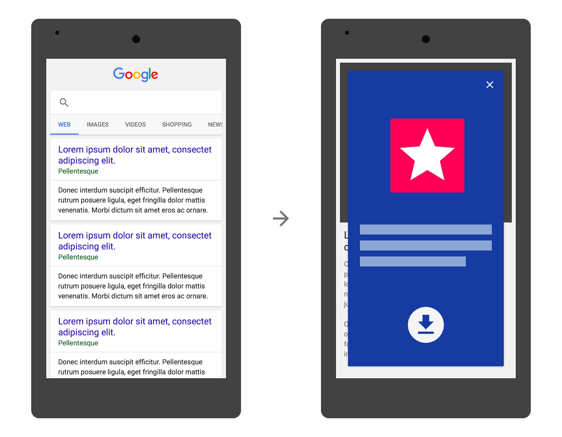 Google To Penalise Full Page App Install Ads