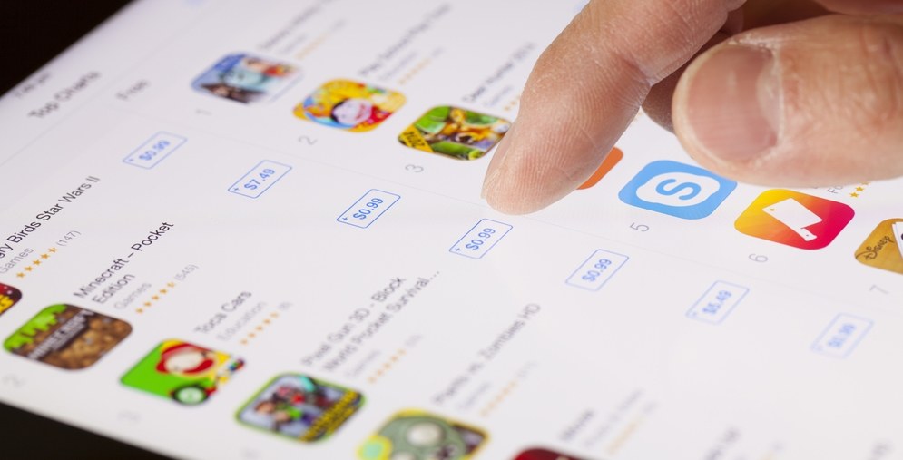 iOS App Revenues Double Android's in Q2