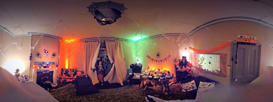 Asda 360 Halloween video
