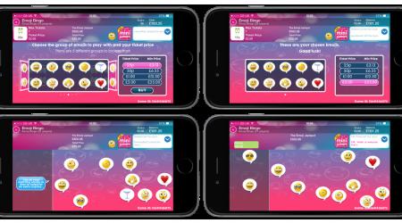 Mecca Calls Eyes Down for Emoji Bingo